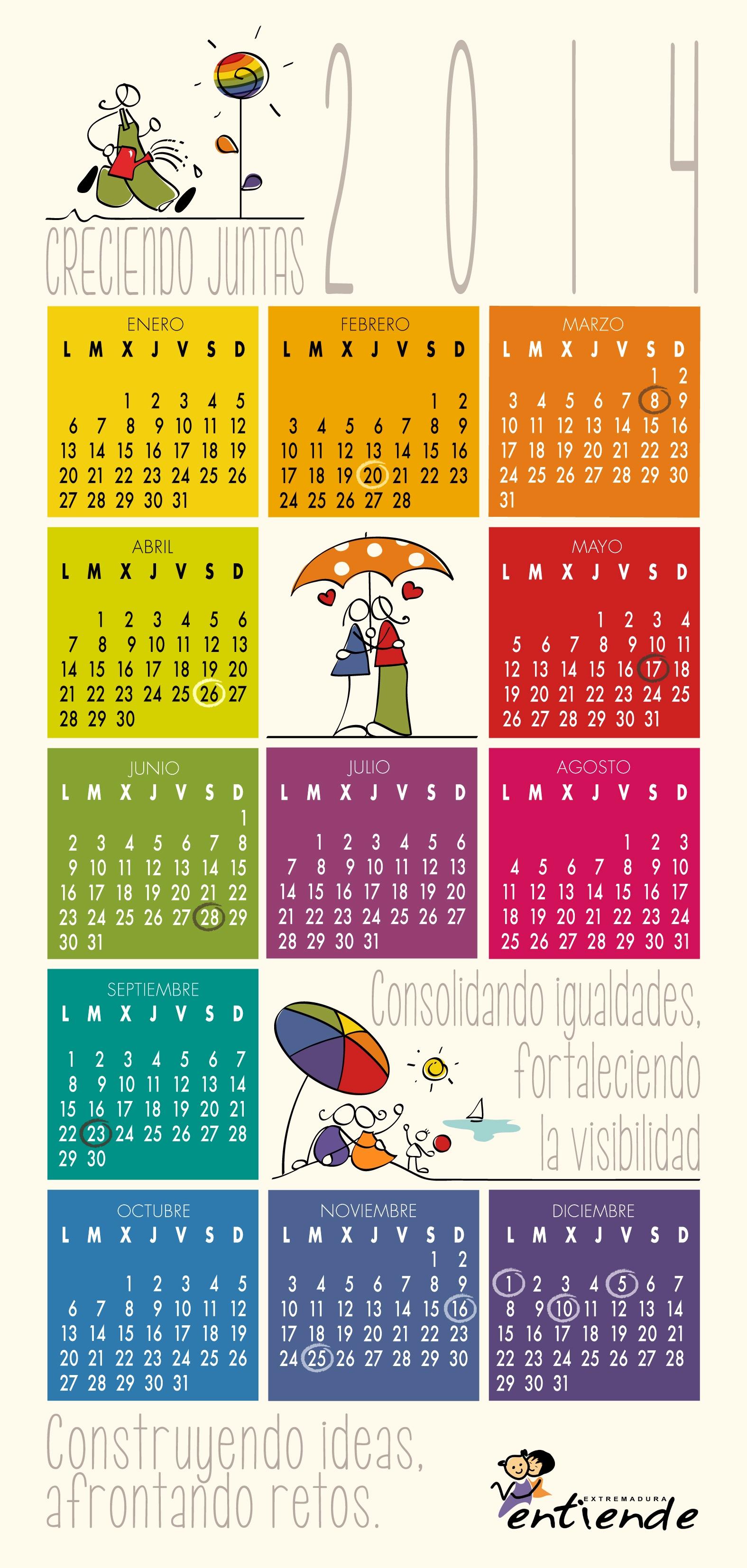 Calendario EE 2014