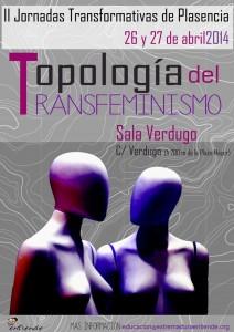 Cartel Jornadas Topología del Transfeminismo