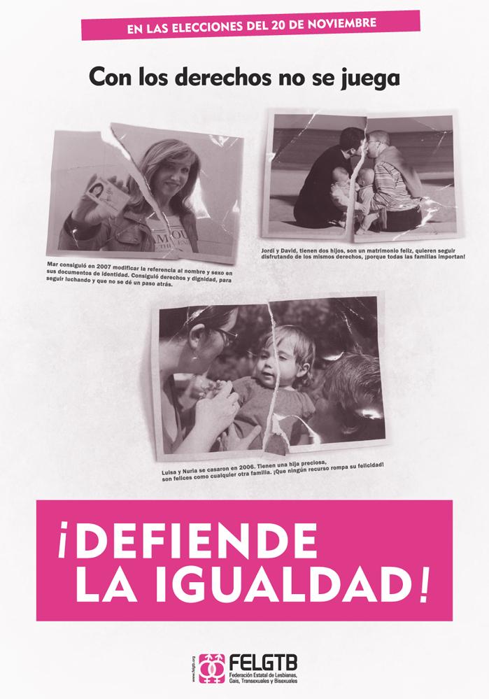 Cartel defiende tus derechos