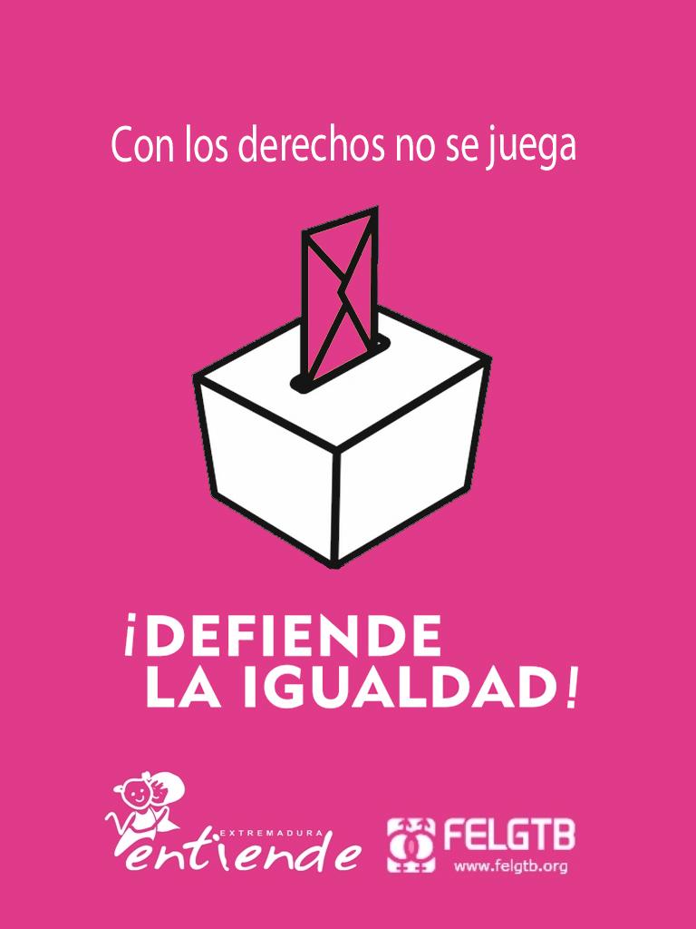 Cartel Vota Rosa