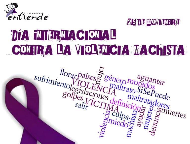 Cartel violencia machista