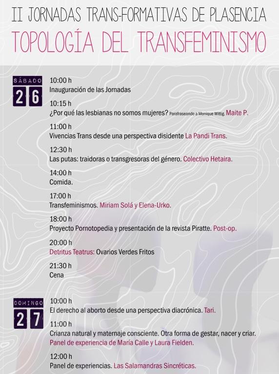 Programa Jornadas Plasencia