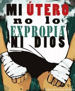 Mi útero no lo expropia ni Dios - Susanna Martín