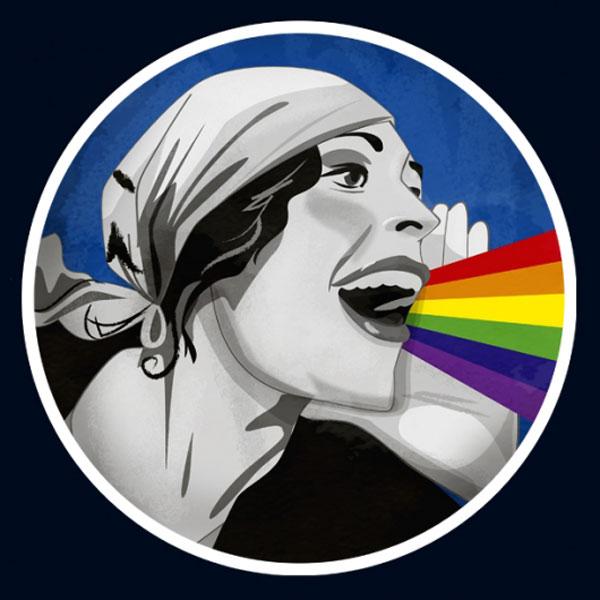 Mujeres arcoiris